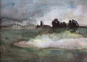 Zonder titel, 2013, aquarel, 27 x 20 cm